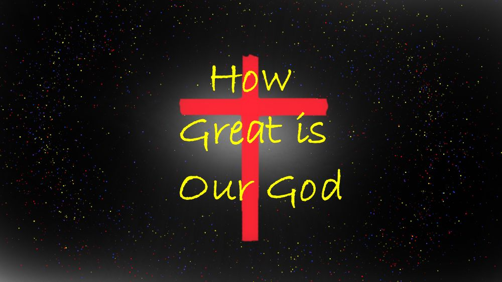 Our Great God Image