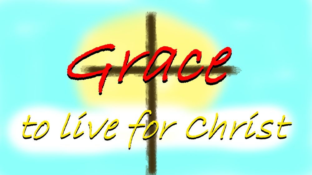 Are we people of grace? Final
