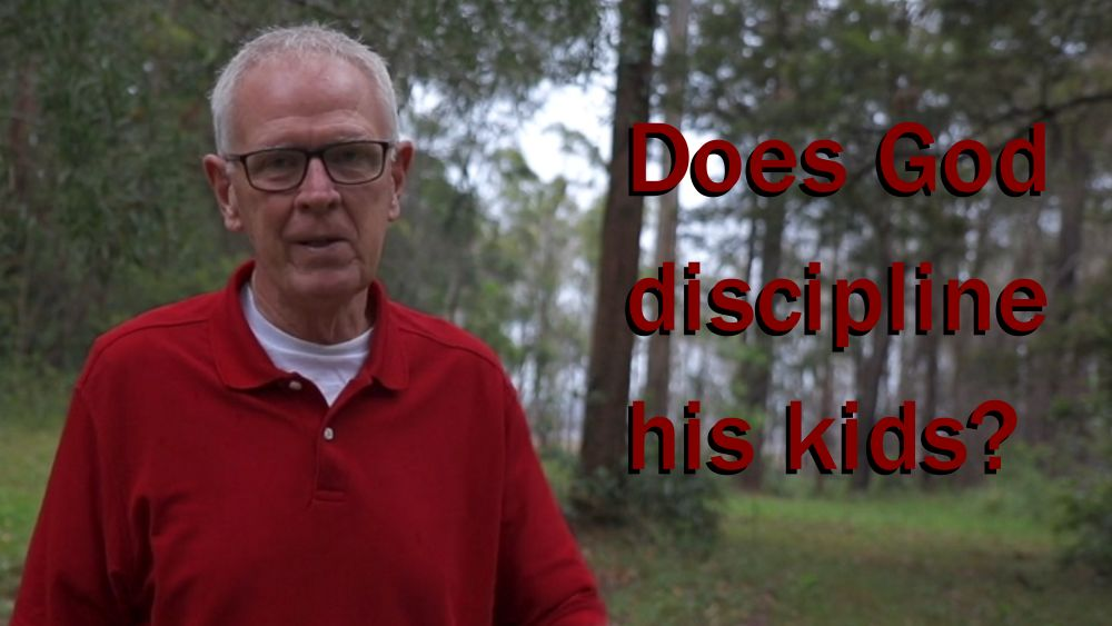 Does God discipline his kids?