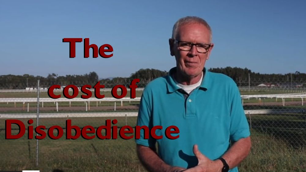 The cost of disobedience